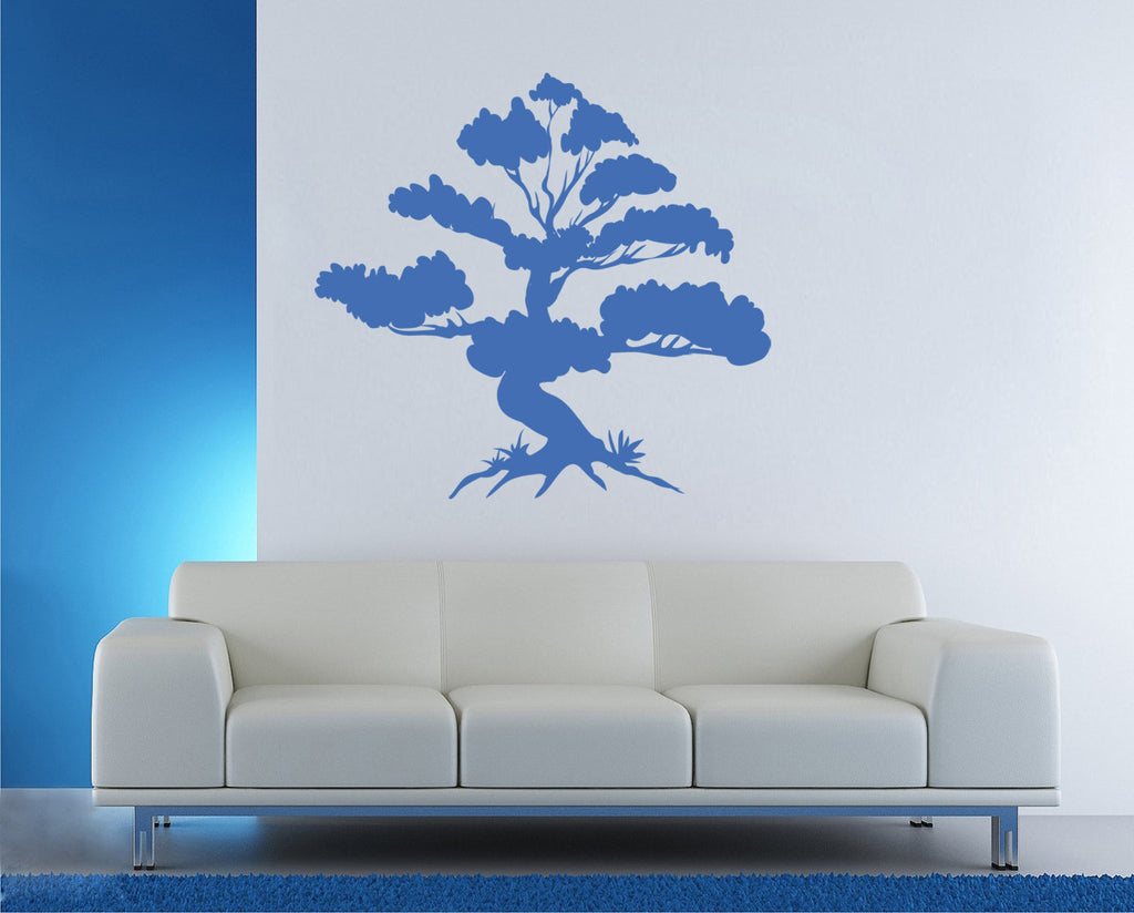 ik1341 Wall Decal Sticker bonsai tree living room bedroom
