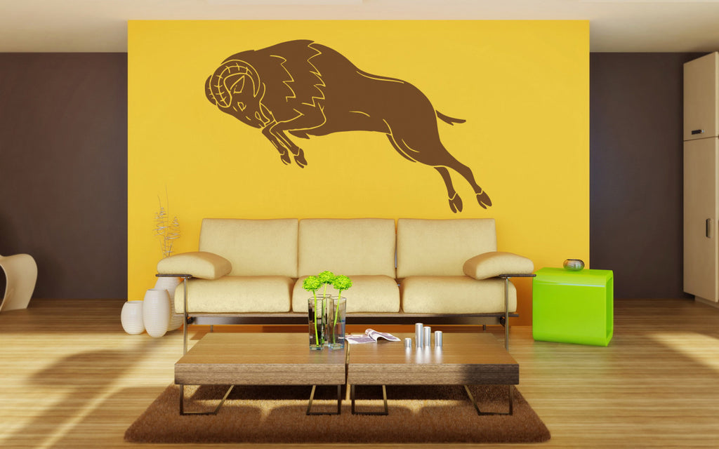 ik1429 Wall Decal Sticker Aries zodiac sign ram bedroom living room