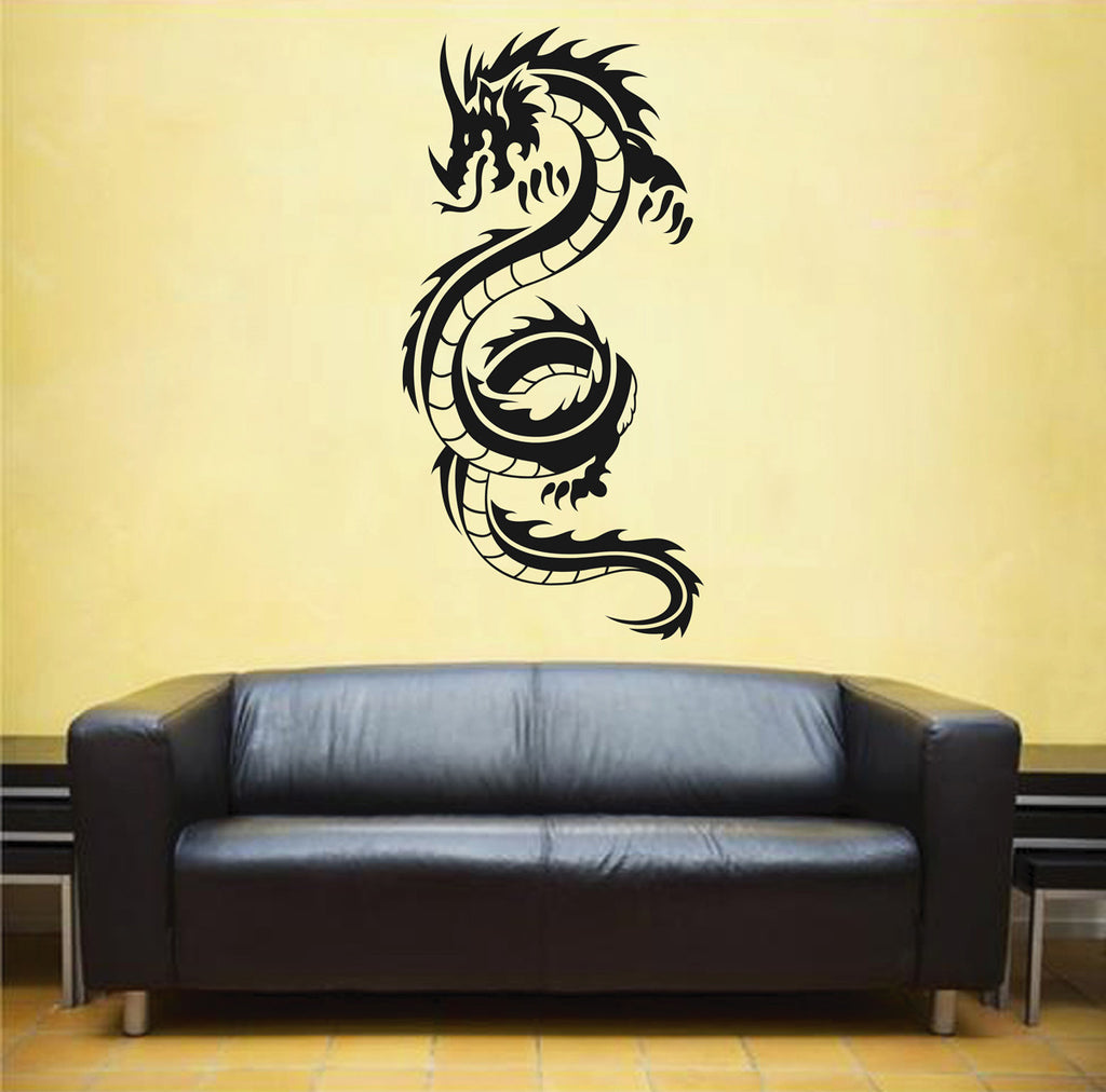 ik1575 Wall Decal Sticker Dragon mythical beast tale bedroom living room