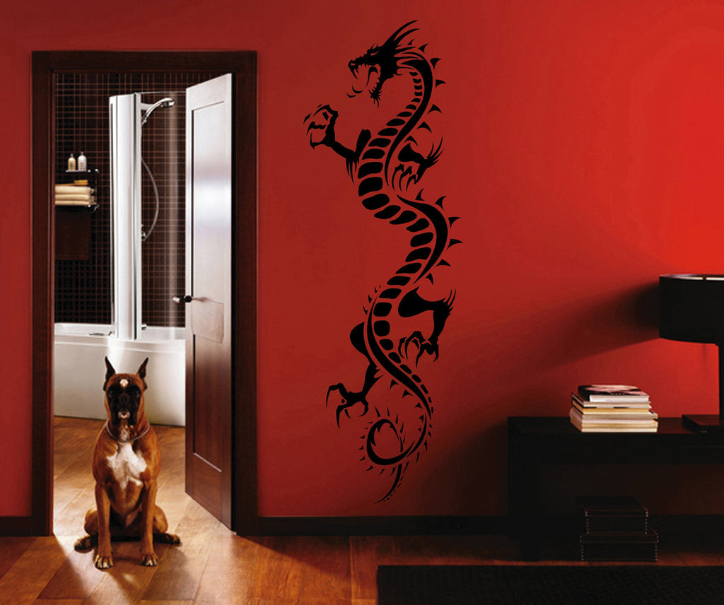 ik1576 Wall Decal Sticker Dragon mythical beast tale bedroom living room