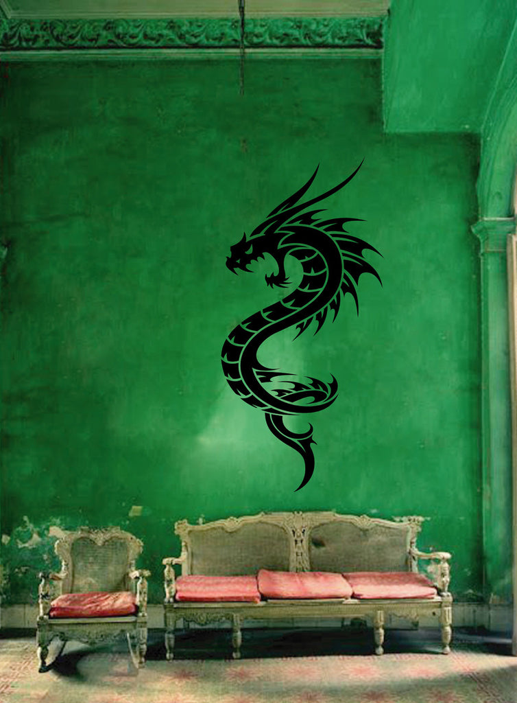 ik1577 Wall Decal Sticker Dragon mythical beast tale bedroom living room
