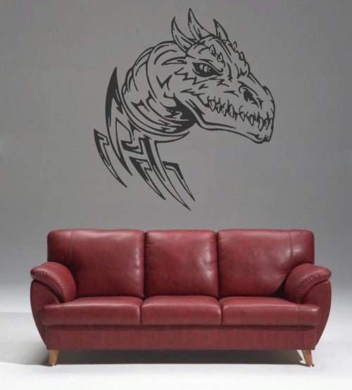 ik1595 Wall Decal Sticker Dragon mythical animal living bedroom teens
