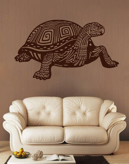 ik1598 Wall Decal Sticker Turtle older animals living room bedroom teens