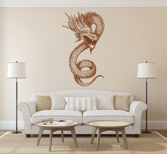 ik1601 Wall Decal Sticker Dragon mythical animal living bedroom teens