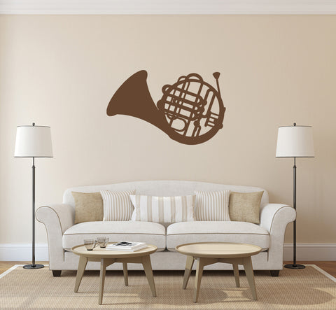 ik161 Wall Decal Sticker Decor music jazz tube trumpet interior bed