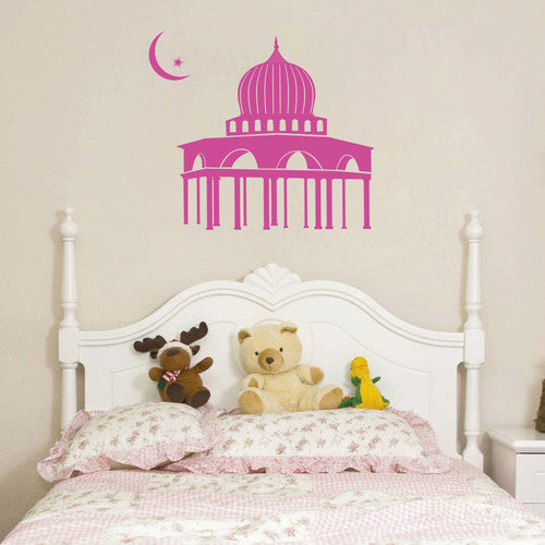 ik1671 Wall Decal Sticker oriental palace east Princess children's room