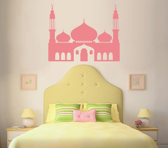ik1672 Wall Decal Sticker oriental palace east Princess children's room