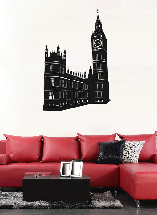 ik1872 Wall Decal Sticker Big Ben London England Landmark living bedroom