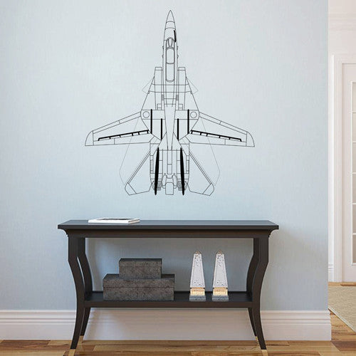 ik1903 Wall Decal Sticker military equipment aircraft bedroom