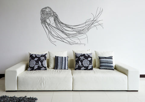 ik196 Wall Decal Sticker Decor Australian jellyfish predator venomous animal