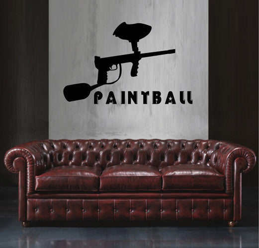 ik2178 Wall Decal Sticker sports game paintball living children's bedroom