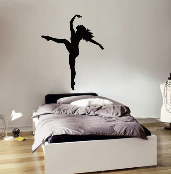 ik2223 Wall Decal Sticker dance dancer girl living room bedroom children's room