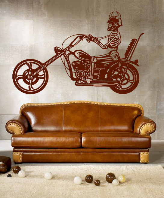 ik287 Wall Decal Sticker Decor motorcycle moto speed bike adrenaline interior