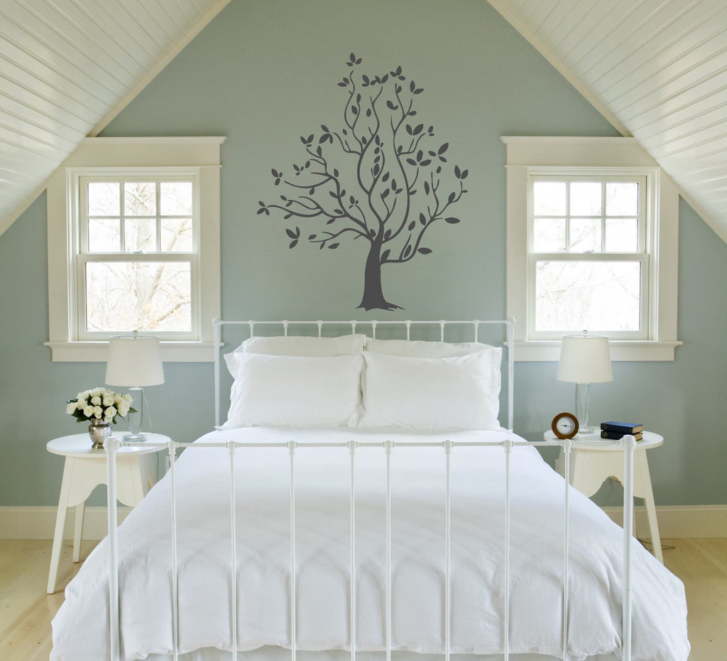 ik321 Wall Decal Sticker Decor elegant tree bedroom kids