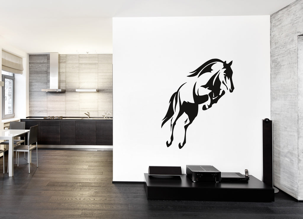 ik374 Wall Decal Sticker horse Pragal animal bedroom