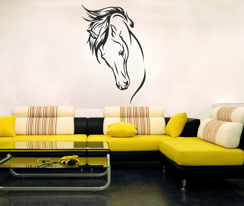 ik388 Wall Decal Sticker horse animal bedroom