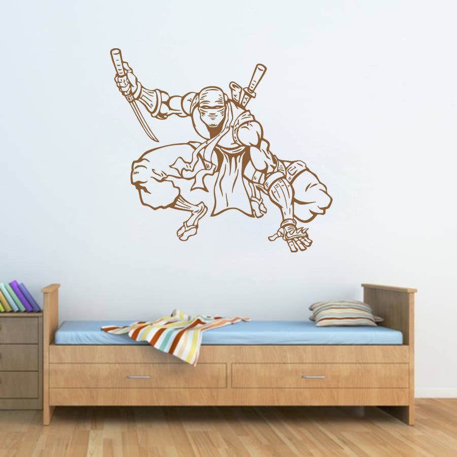 ik627 Wall Decal Sticker Ninja Japan spy defender fighter warrior
