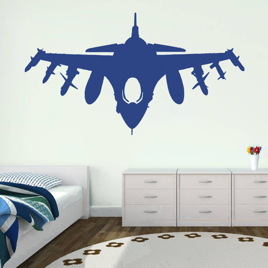ik725 Wall Decal Sticker fighter air transport the US Army Air Force children's