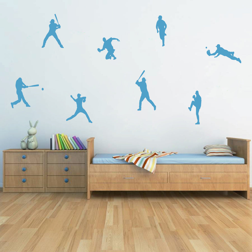 ik787 Wall Decal Sticker Baseball American football players sport kids room