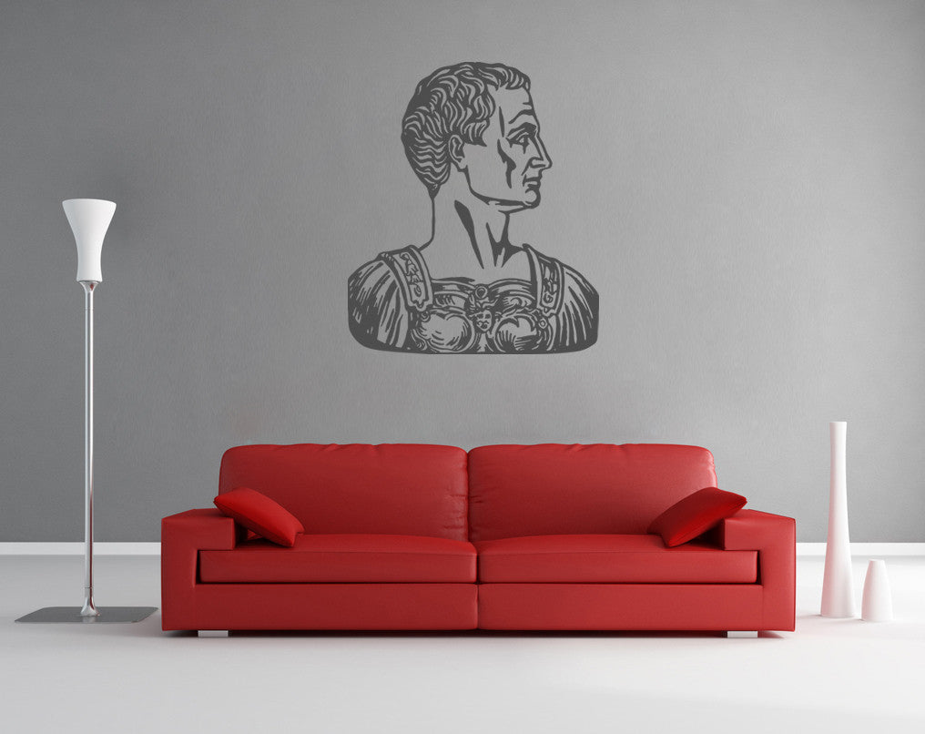 ik900 Wall Decal Sticker julius caesar roman general bedroom
