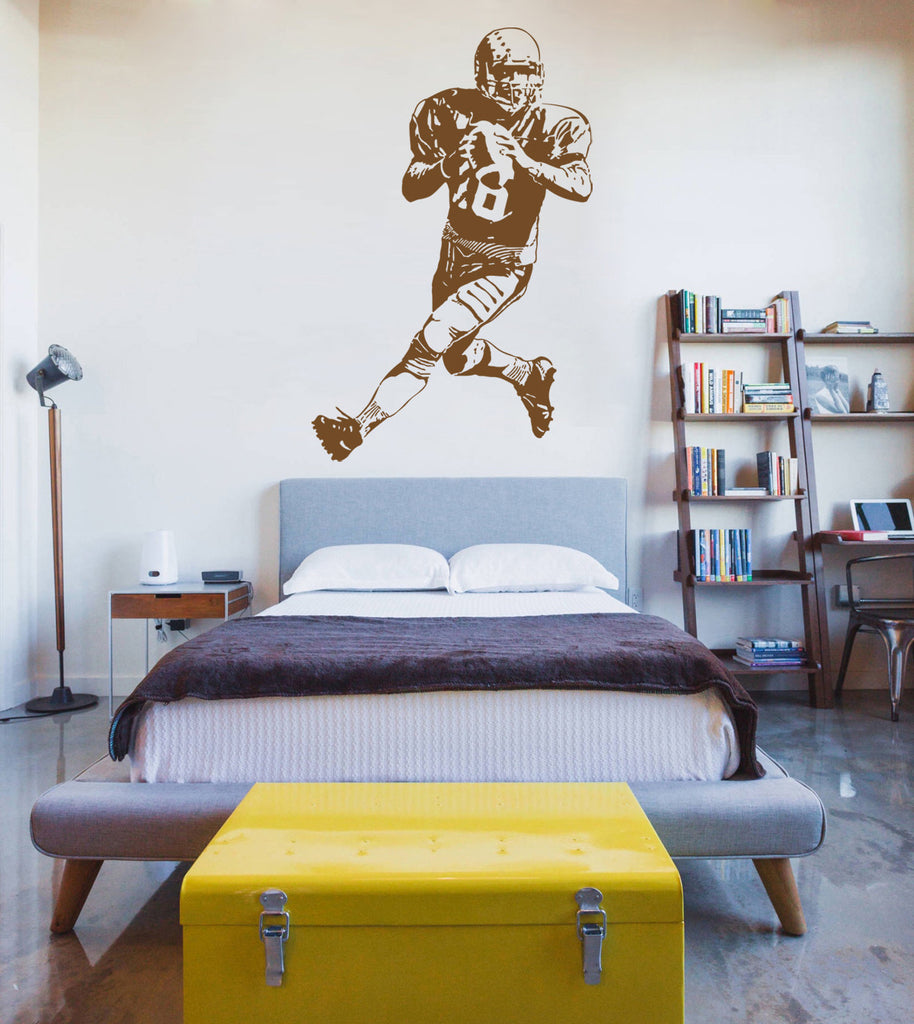 ik911 Wall Decal Sticker Rugby Football Sports living children's bedroom