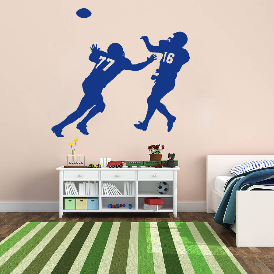 ik913 Wall Decal Sticker Rugby Football Sports living children's bedroom