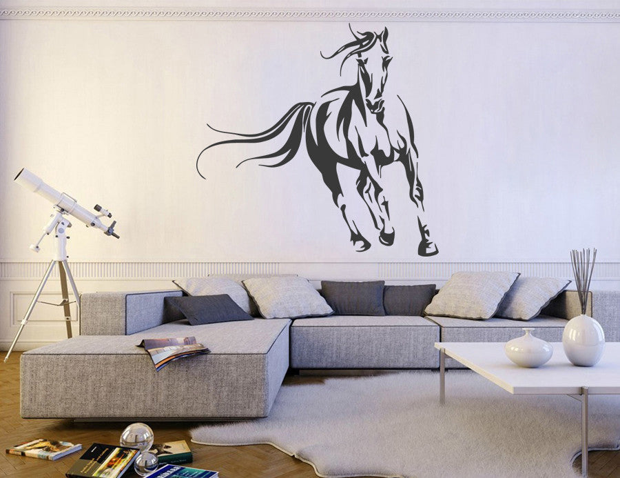 ik930 Wall Decal Sticker running loschadi beautiful bedroom