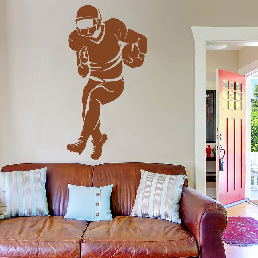ik976 Wall Decal Sticker American rugby sports team game football kids bedroom