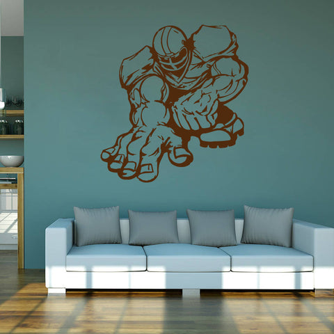 ik980 Wall Decal Sticker American rugby sports team game football kids bedroom