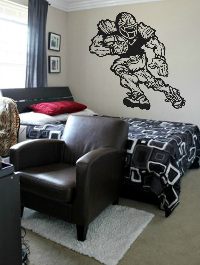 ik981 Wall Decal Sticker American rugby sports team game football kids bedroom