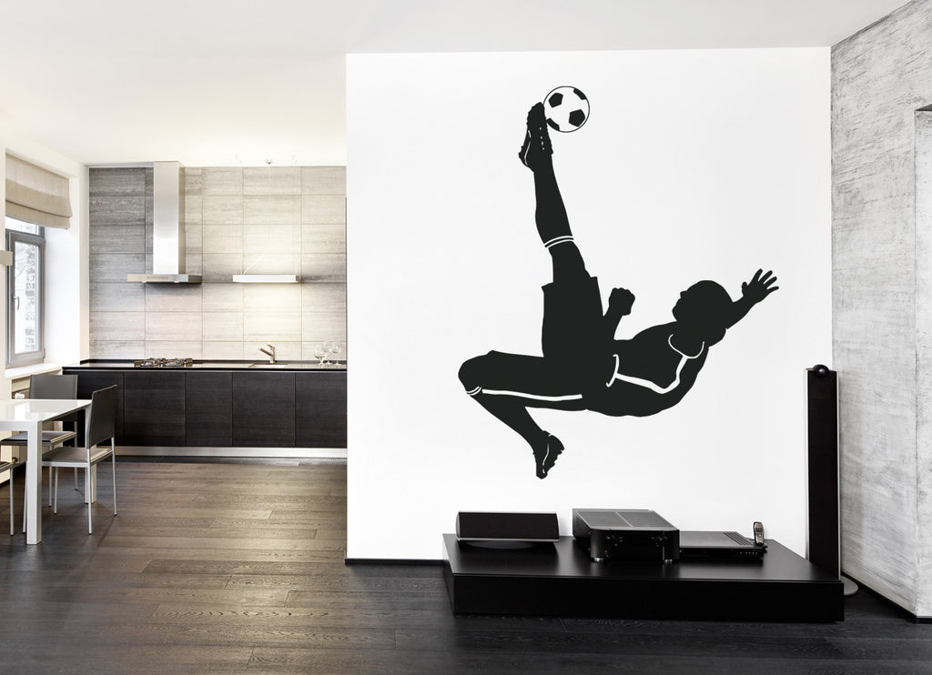 ik988 Wall Decal Sticker European football sports team game children's bedroom