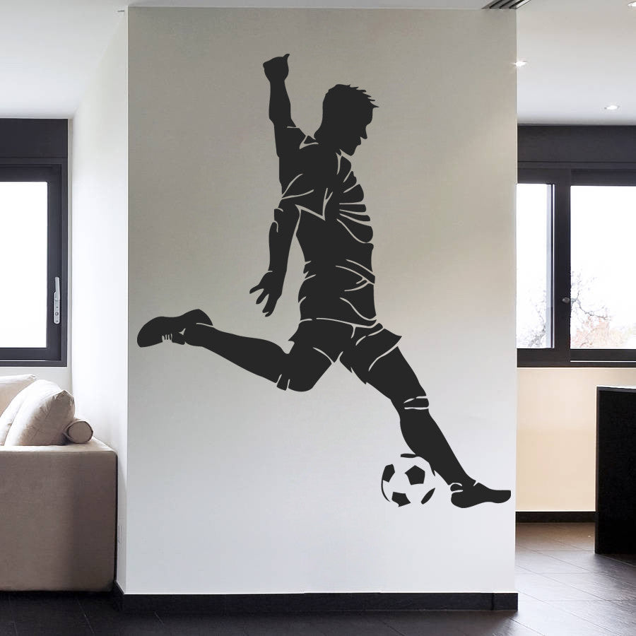 ik990 Wall Decal Sticker European football sports team game children's bedroom