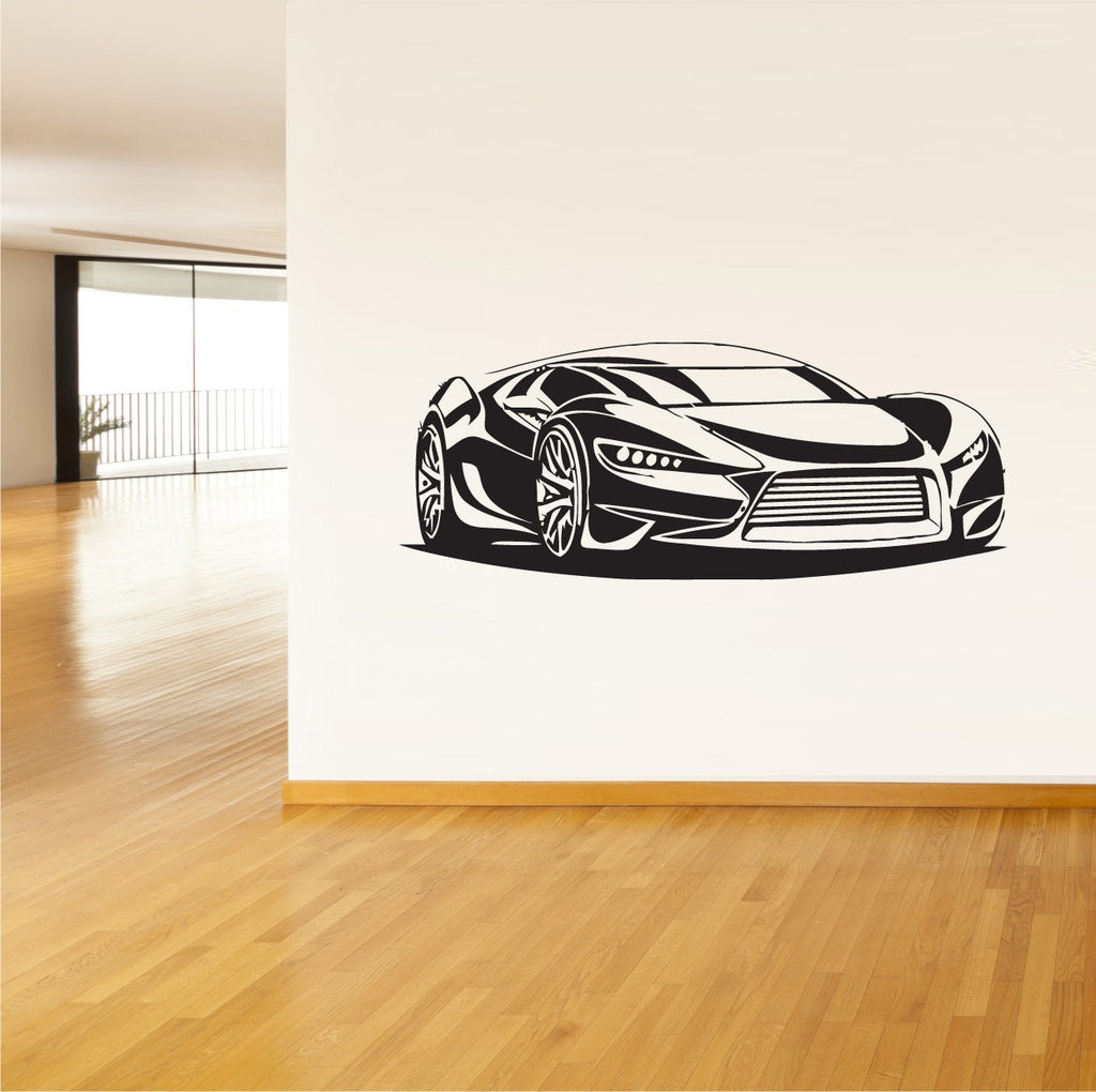 Wall Vinyl Decal Sticker Decals Sport Car Auto Automobile  z75