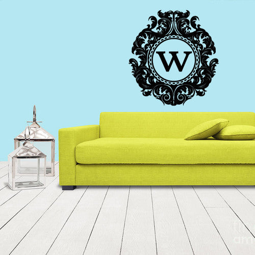 Wall Decals Decal Sticker Bedroom Kids Nursery Baby Custom Name Monogram Personalized Sign  z1103