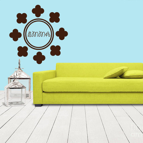 Wall Decals Decal Sticker Bedroom Kids Nursery Baby Custom Name Monogram Personalized Sign Words  z1106