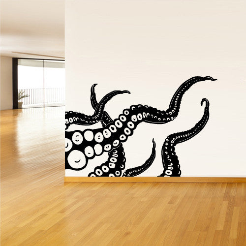 Wall Decal Vinyl Decal Sticker Decals Octopus Sprut Poulpe Delfish tentacles  z1408
