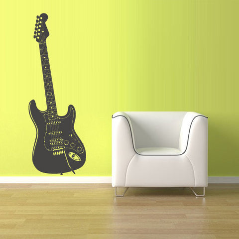 Wall Decal Vinyl Decal Sticker Decals Guitar Music  z1524