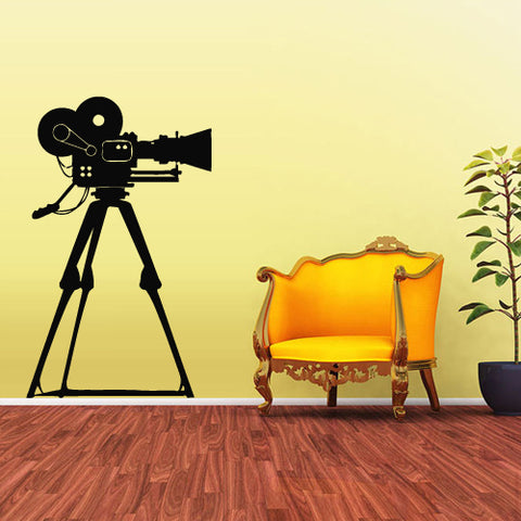 Wall Decal Vinyl Decal Sticker Photo Camera Studio Video Film Cinema Salon  z1840