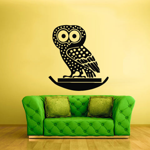 Wall Vinyl Decor Art Decal Sticker Decals Kids Animal Owl Bird  z1886