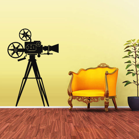 Wall Decal Vinyl Decal Sticker Photo Camera Studio Video Cinema Salon Retro  z1910