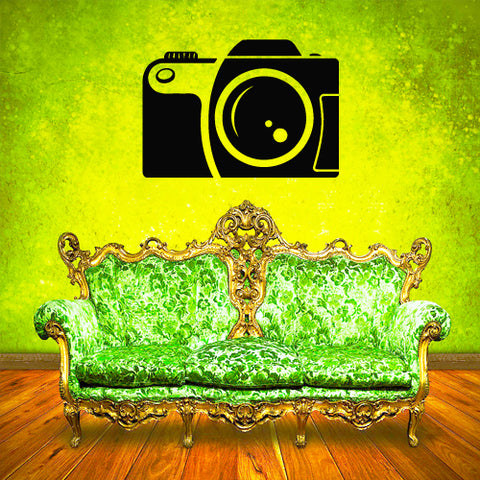 Wall Decal Vinyl Decal Sticker Decals Photo Camera Studio Hands Salon  z1955