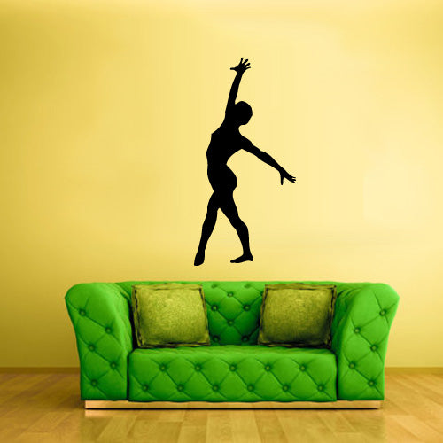 Wall Decal Vinyl Decal Sticker Decor Art Bedroom Decal Nursery Kids Baby Ballet Ballerina Dancer Silhouette  z2473