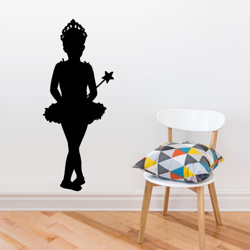 Wall Decal Vinyl Decal Sticker Nursery Kids Baby Silhouette Magic Fairy Stars  z2756