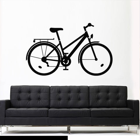 Wall Vinyl Decal Sticker Bedroom Decal Bike Sport Bicycle Cycle  z2765