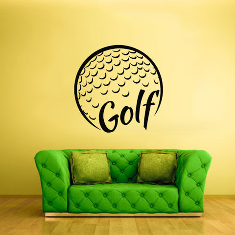 Wall Vinyl Decal Sticker Decals Basketball Ball Golf Sport Word Sign Quote  z2789