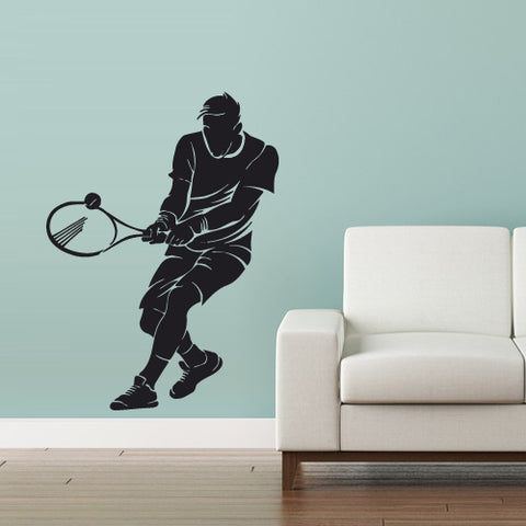 Wall Vinyl Decal Sticker Bedroom Decal Modern Decal Tennis Ball Sport Court  z2983