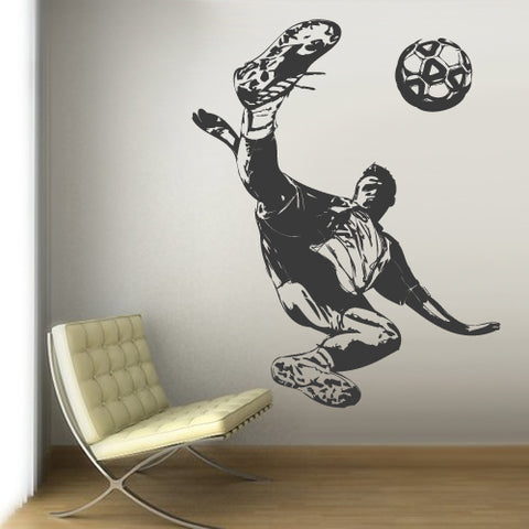 Wall Vinyl Decal Sticker Decal Dorm Kids Nursery Keeper Football Soccer Sport  z3061