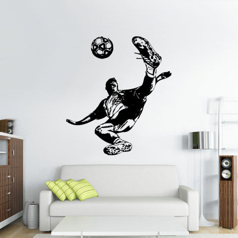 Wall Vinyl Decal Sticker Decal Kids Nursery Keeper Football Player Soccer Sport  z3066