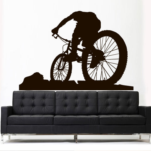 Wall Vinyl Decal Sticker Decal Sport Mountain Cycle BMX Bike Bicycle  z3112