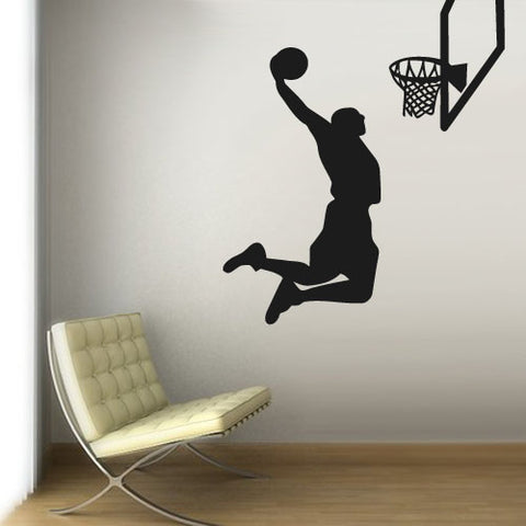 Wall Vinyl Decal Sticker Decal La Lakers Basketball Ball Sketch Sport Basket  z3118